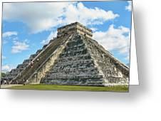 El Castillo Of Chichen Itza Greeting Card