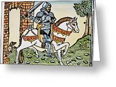 El Cid Campeador (1040?-1099) Greeting Card