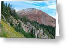 El Diente Peak Greeting Card