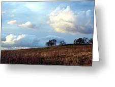 El Dorado Hills Skyscape Greeting Card