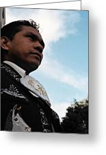 El Mariachi Greeting Card