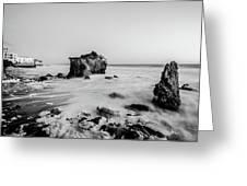 El Matador State Beach Greeting Card