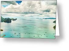 El Nido Bay Greeting Card