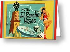 El Rancho Greeting Card