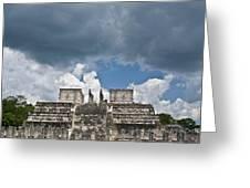 El Templo De Las Columnas  1 Greeting Card