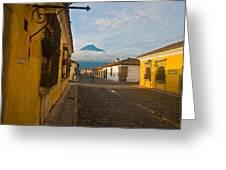 el Volcan Greeting Card