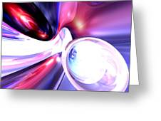 Elation Abstract Greeting Card