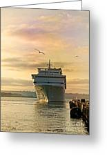 Elation - Leaving For A Cruise Greeting Card