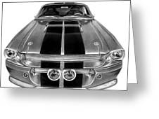 Eleanor Ford Mustang Greeting Card