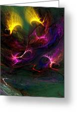 Electric Abstract 052510 Greeting Card
