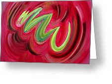 Electric Candy Greeting Card