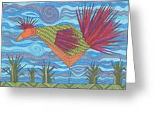 Electric Chicken Greeting Card