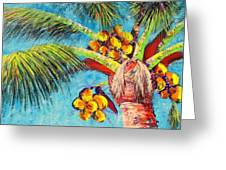 Electric Coconuts IIi Greeting Card