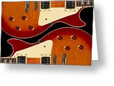 Electric Guitar II Greeting Card by Mike McGlothlen