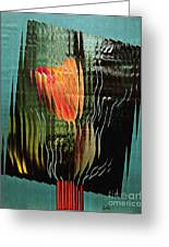 Electric Tulip 2 Greeting Card