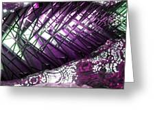 Electric Violet Fish Greeting Card