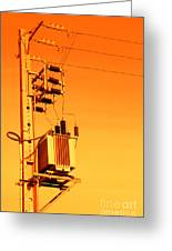 Electricity Greeting Card
