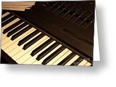 Electronic Keyboard Greeting Card