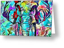 Elefante Greeting Card