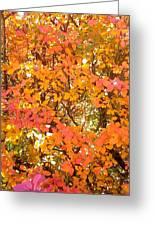 Elegant  Autumn Greeting Card