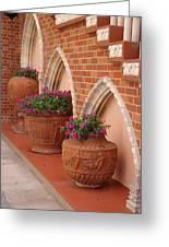 Elegant Italian Florals Greeting Card