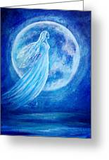 Elemental Earth Angel Of Water Greeting Card
