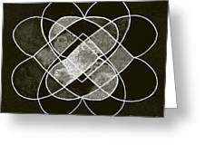 Elemetal Matrix Greeting Card