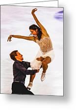 Elena Ilinykh And Ruslan Zhiganshin Greeting Card