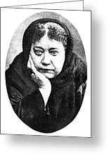Elena Petrovna Blavatsky Greeting Card