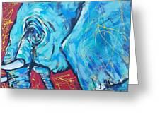 Elephant #4 Greeting Card