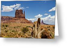 Elephant Butte - Monument Valley - Arizona Greeting Card