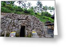 Elephant Cave Temple Greeting Card