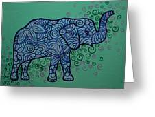 Elephant Dreams Greeting Card