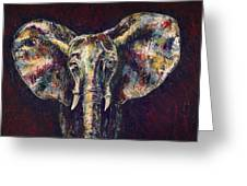 Elephant Ears Greeting Card