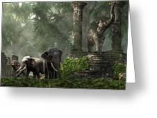 Elephant Kingdom Greeting Card