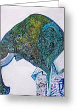 Elephant Man Greeting Card