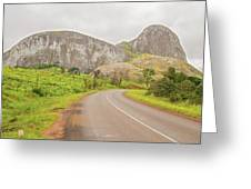 Elephant Rock, Malawi Greeting Card