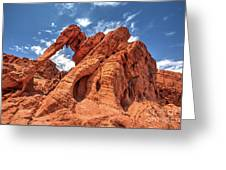 Elephant Rock, Valley Of Fire State Park, Nevada Greeting Card