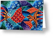Eletric Fish Greeting Card