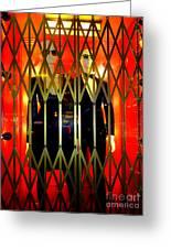 Elevator Elegance Greeting Card