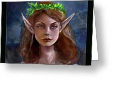 Elf Girl 1 Greeting Card