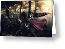 Elf Knights Greeting Card