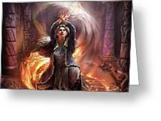 Elf Mage Greeting Card