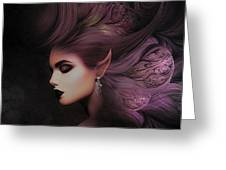 Elf Mystical Beauty 02 Greeting Card