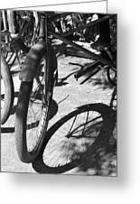 Elgin Bicycle Shadow Greeting Card