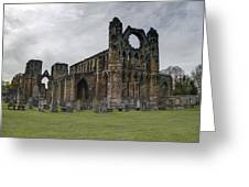 Elgin Cathedral - East View Greeting Card