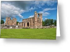Elgin Cathedral, Scotland Greeting Card