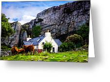Elgol Cottage, Skye Greeting Card
