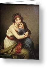 Elisabeth Vigee-lebrun, 1755-1842. Greeting Card