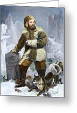 Elisha Kent Kane, 1820-1857 Greeting Card